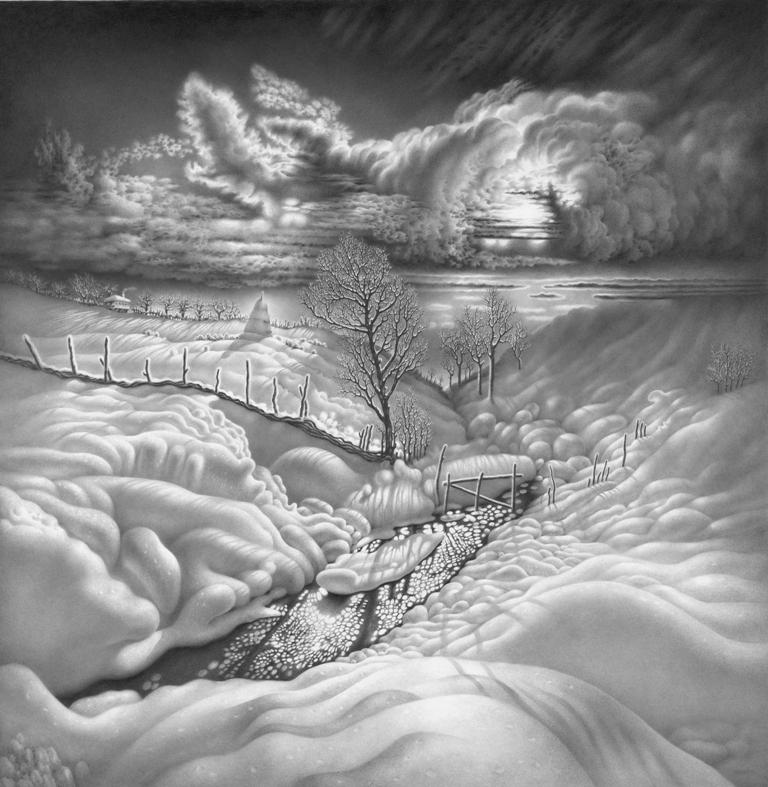 იმერეთის მთვარიანი ღამეები. 4. ფანქარი.