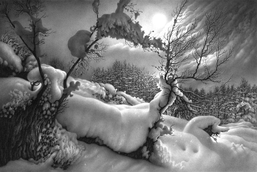 იმერეთის მთვარიანი ღამეები. 3. ფანქარი.