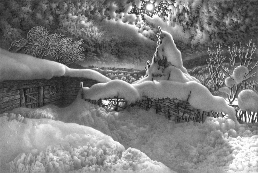 იმერეთის მთვარიანი ღამეები. 2. ფანქარი.