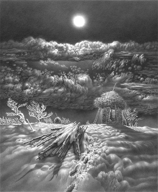 იმერეთის მთვარიანი ღამეები. 7. ფანქარი.